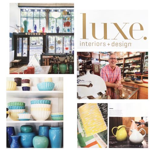 Laguna Pottery for LUXE Magazine Winter 2015 | Photography by Melanie Biehle