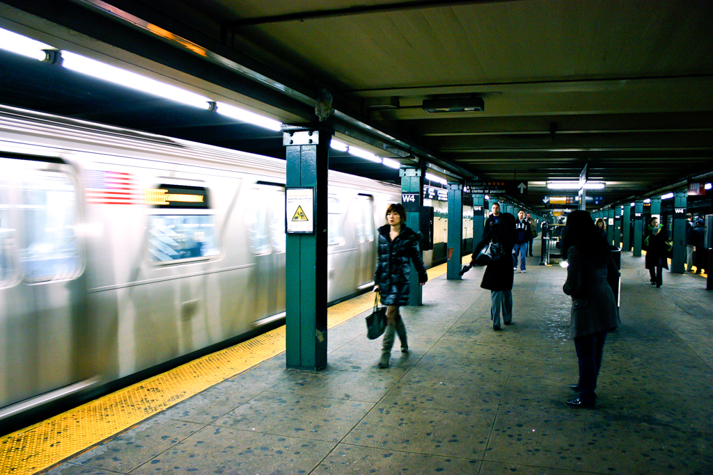 In the Subway | NYC, 2009