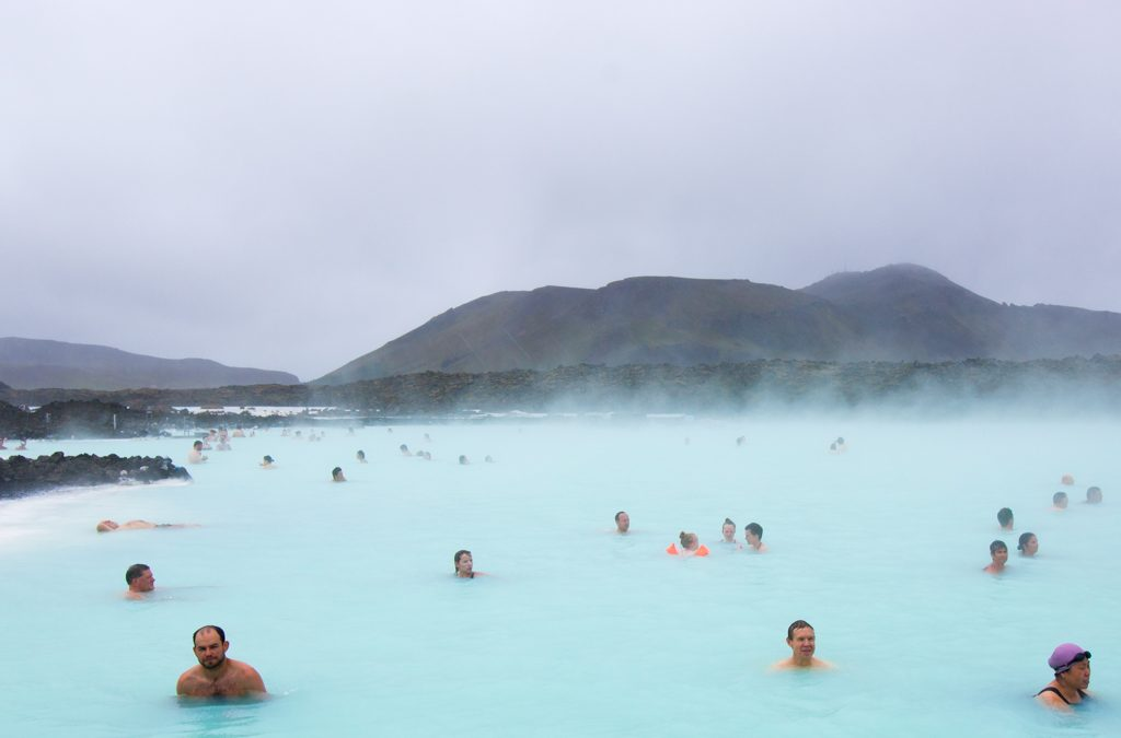 The Blue Lagoon and Our Airbnb in Reykjavík, Iceland