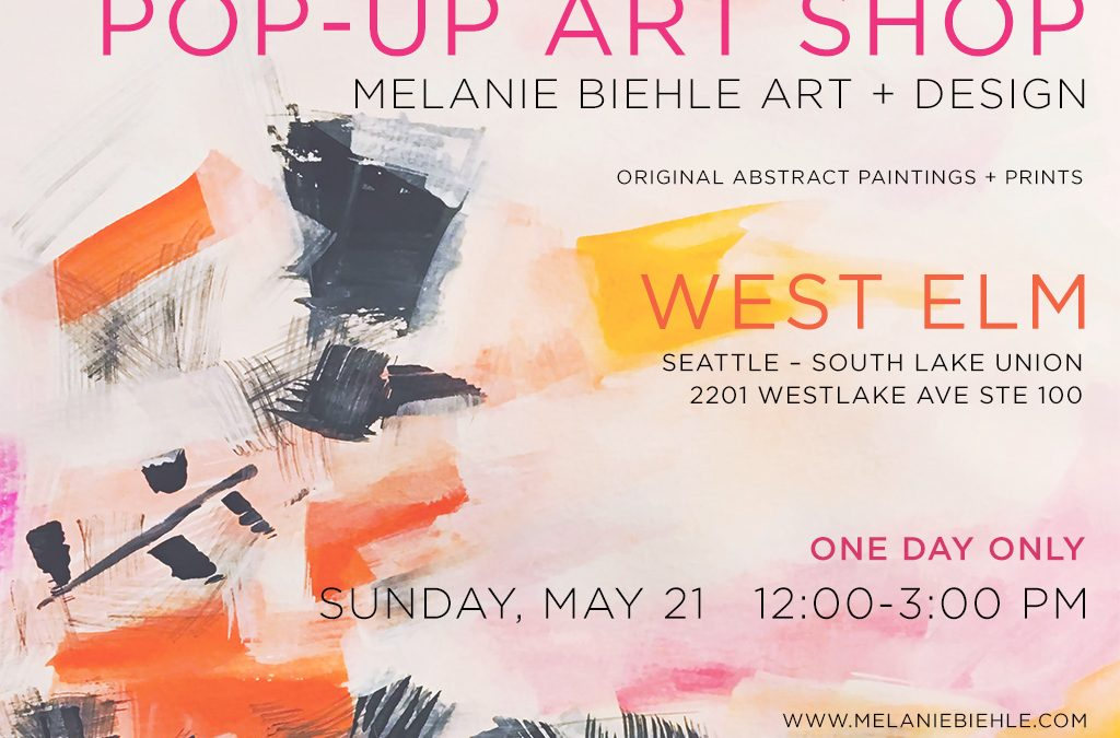 Pop-Up Art Shop at West Elm