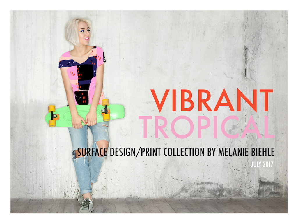 VIBRANT TROPICAL LOOKBOOK Psst…I have some new designs available for license or purchase. If you are in charge of creative direction or art licensing for your company and would like to receive the Vibrant Tropical 2017 lookbook and future design mailings, please sign up for my commercial client mailing list. Once I review your information, I'll be in touch!