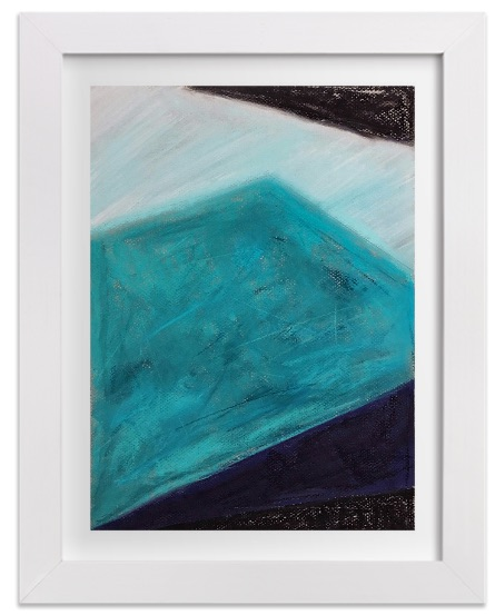 New Art Print on Minted: Iceberg Blues