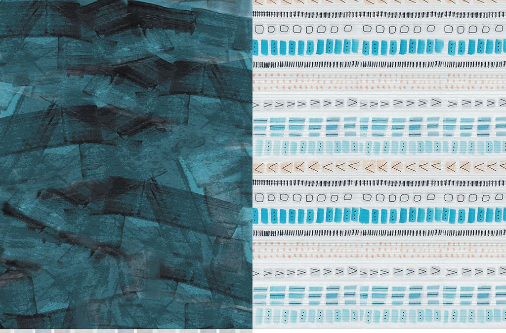 Ice Princess Textile Print Collection