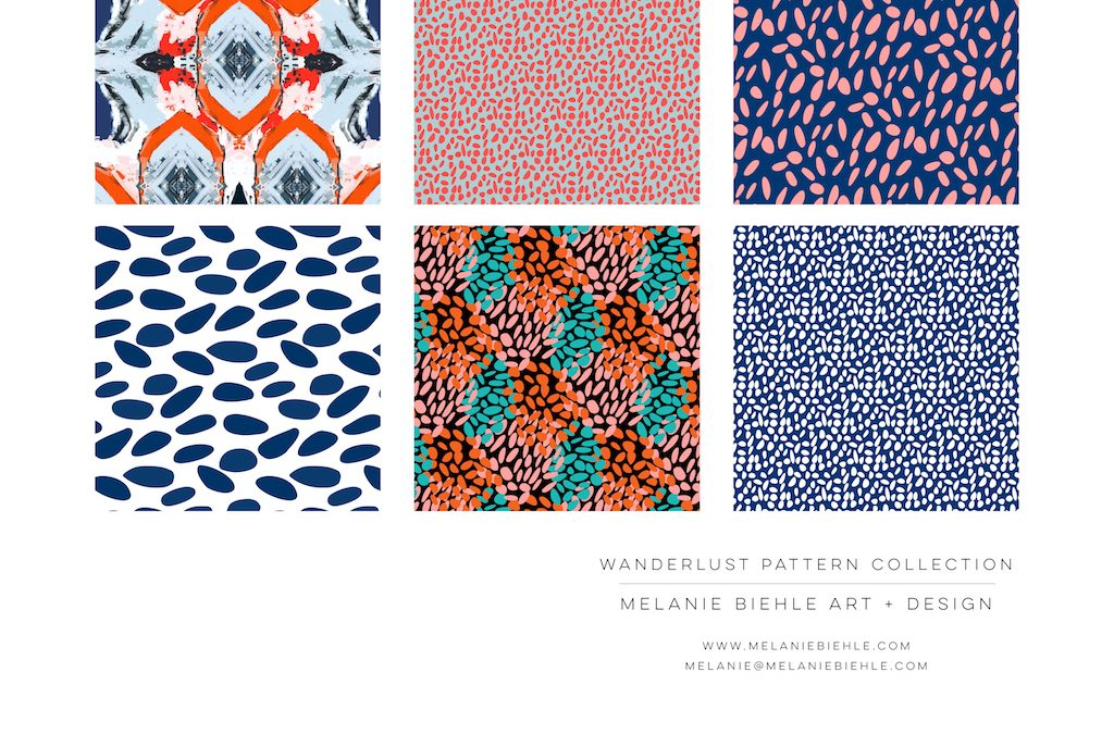 Wanderlust Pattern Design Collection