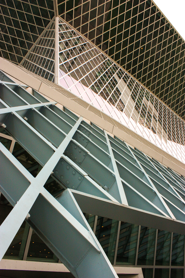 Seattle Public Library Designed By Rem Koolhaas Melanie