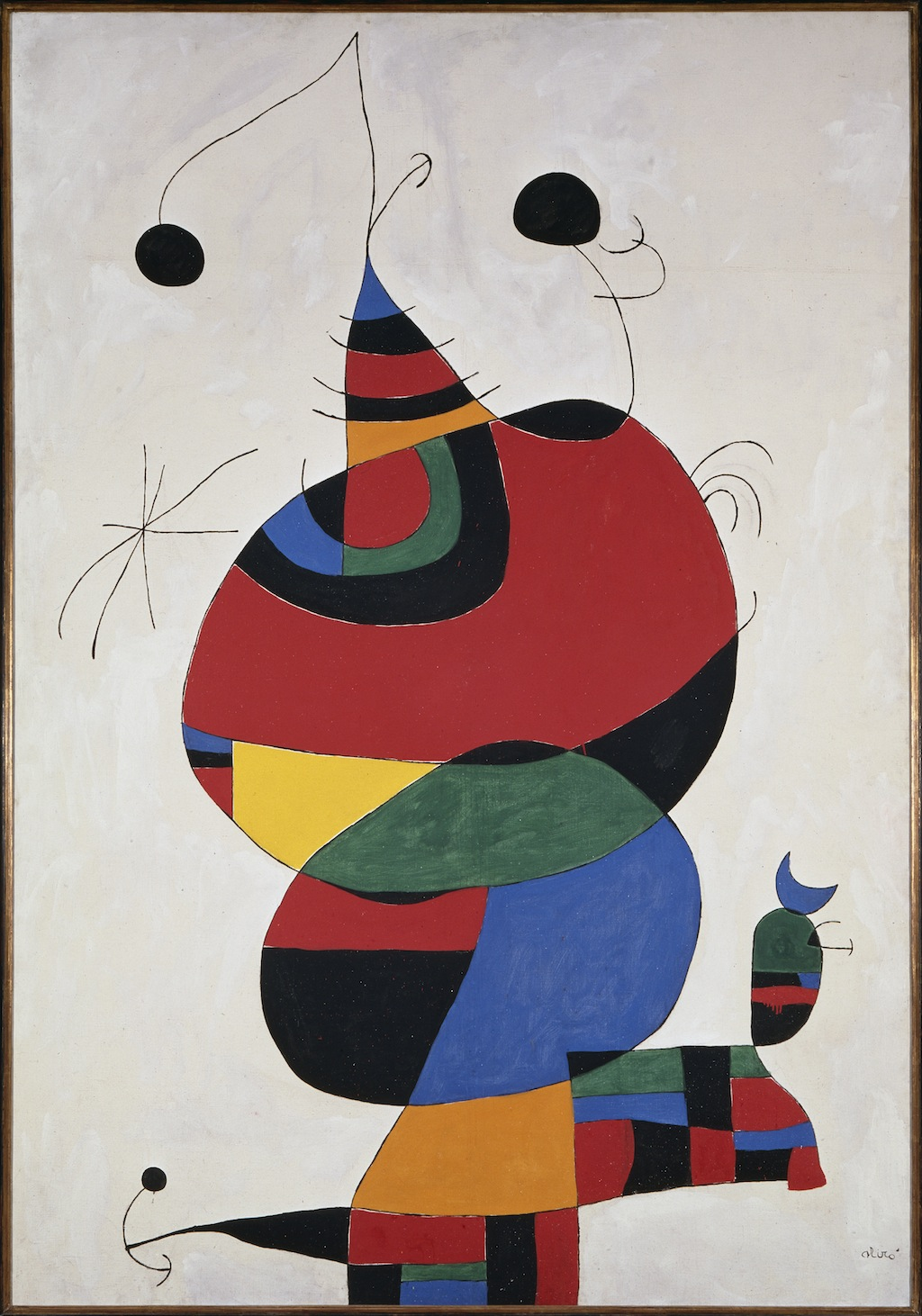 Modern Exhibition Stand By Me : Miró the experience of seeing at seattle art museum by