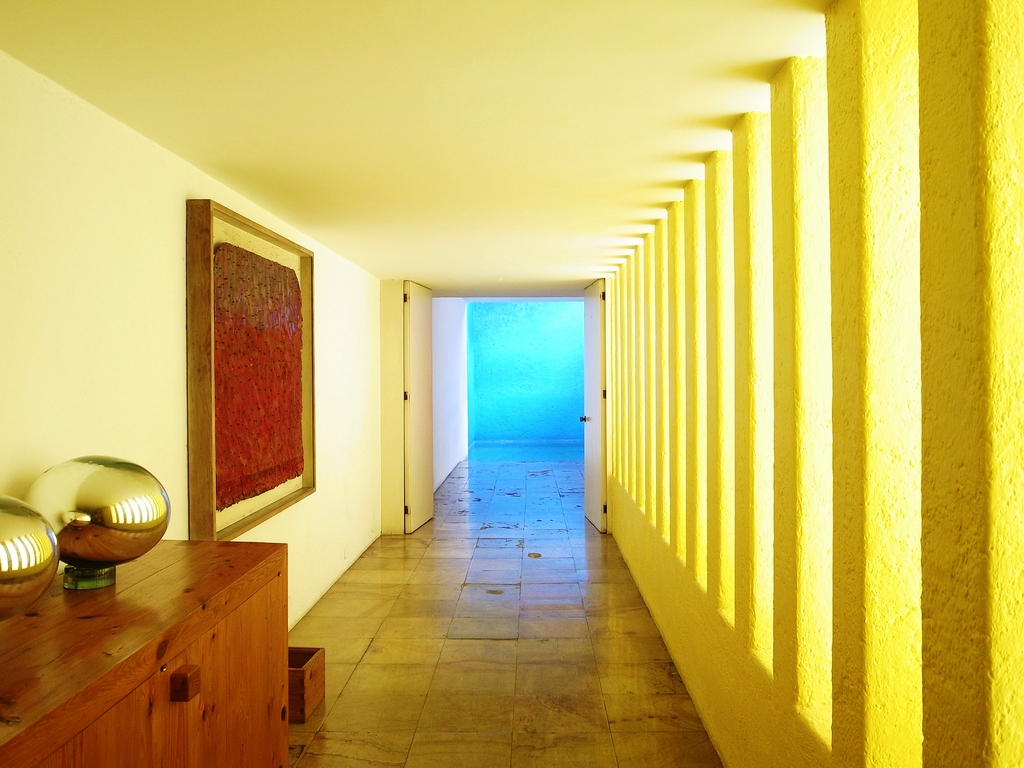 Inspiration: Color Block Architecture by Luis Barragán
