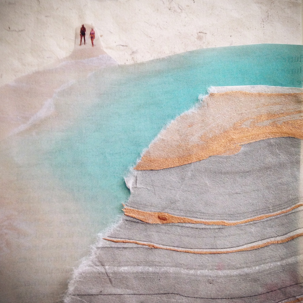 Untitled Mini-Collage by Melanie Biehle