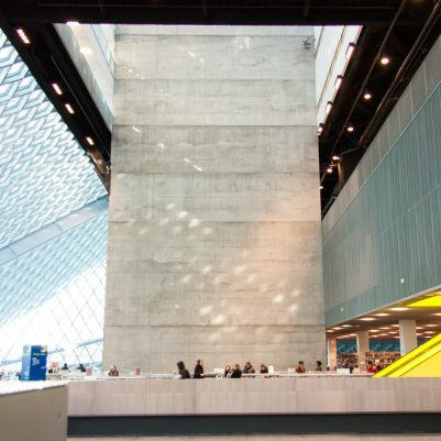 Seattle Public Library | Central Library Designed by Rem Koolhaas, Photography by Melanie Biehle | by Melanie Biehle, Interiors, Travel, Lifestyle Photographer