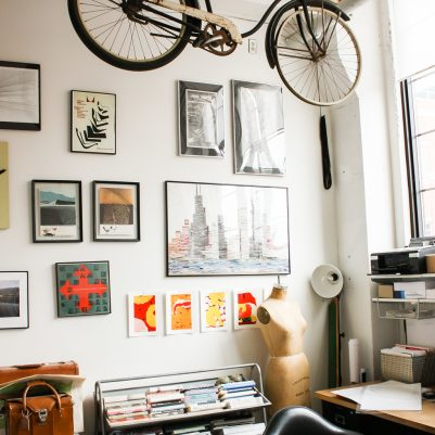 Modern Conscience | Bemis Building Artist Live/Work Lofts | by Melanie Biehle, Interiors, Travel, Lifestyle Photographer