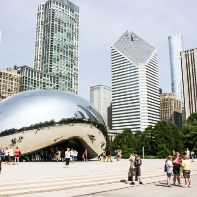 Cloud Gate The Bean Chicago by Melanie Biehle, Interiors, Travel, Lifestyle Photographer