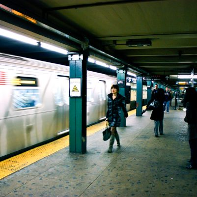 In the Subway | NYC, 2009 | by Melanie Biehle, Interiors, Travel, Lifestyle Photographer