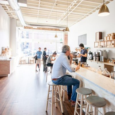 Elm Coffee Roasters | by Melanie Biehle, Interiors, Travel, Lifestyle Photographer
