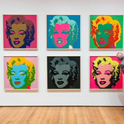 Andy Warhol Marilyn Monroe Closer Look Museum of Modern Art by Melanie Biehle