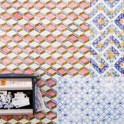Ceramic Tile in Williamsburg Brooklyn NYC 2015 by Melanie Biehle-3