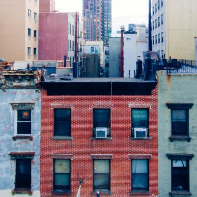 Lower East Side View from Hotel on Rivington | by Melanie Biehle, Interiors, Travel, Lifestyle Photographer