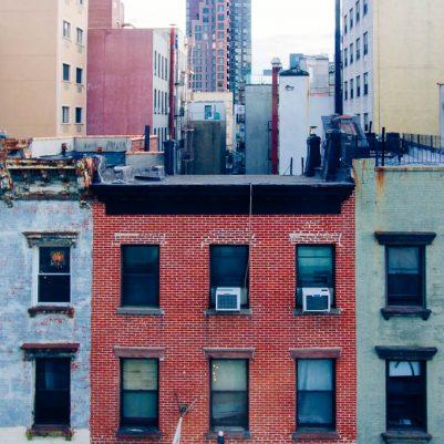 Lower East Side Hotel on Rivington by Melanie Biehle