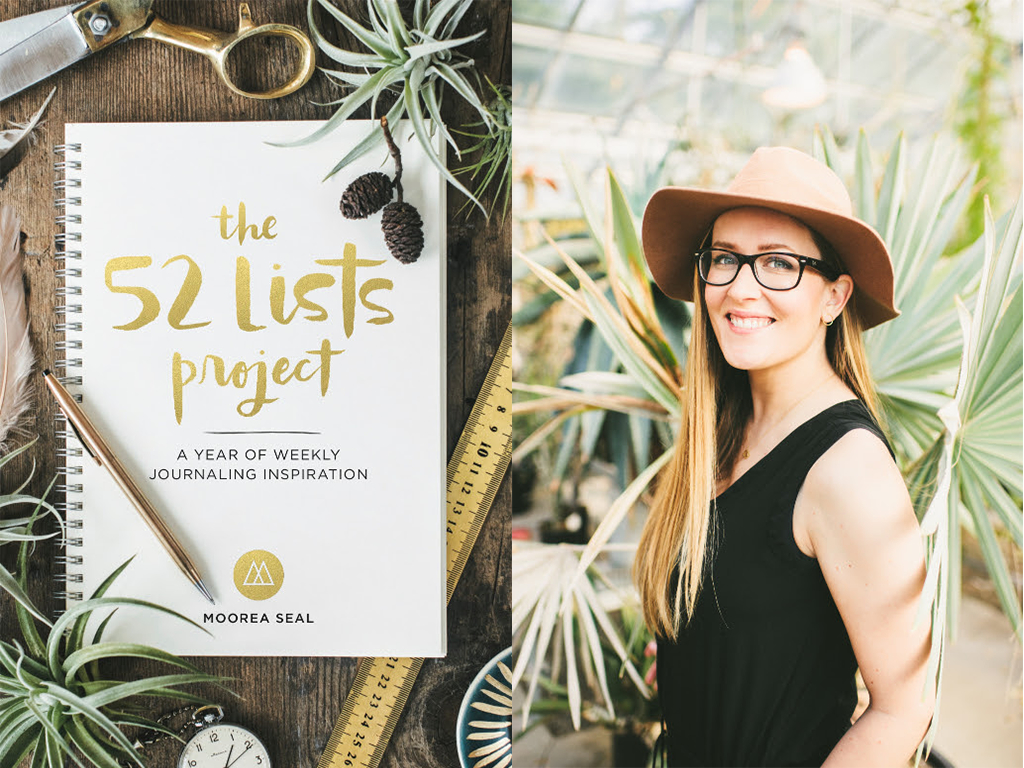 The 52 Lists Project by Moorea Seal