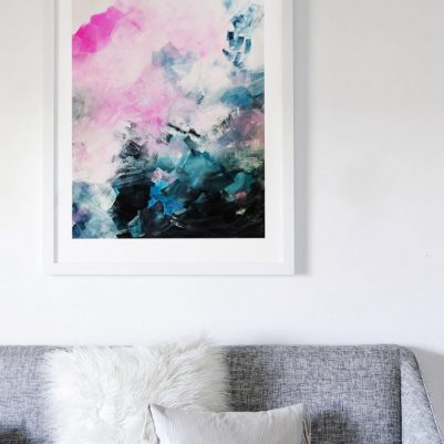 mood swing abstract art print from minted