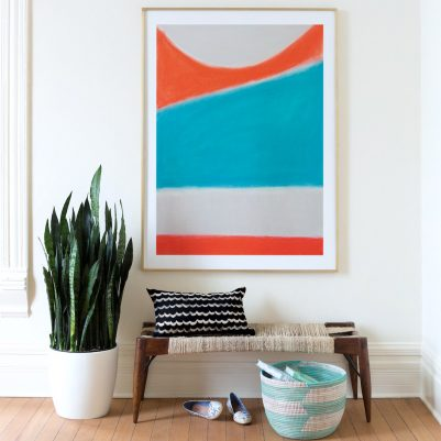 surfs up art print by melanie biehle at minted