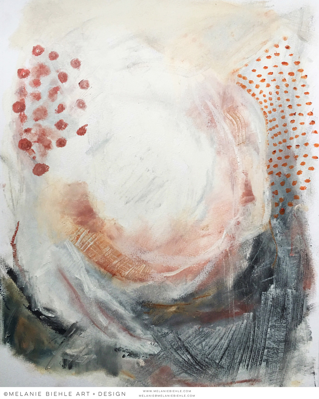 Home And Decor Seattle Artist Melanie Biehle Abstract Paintings
