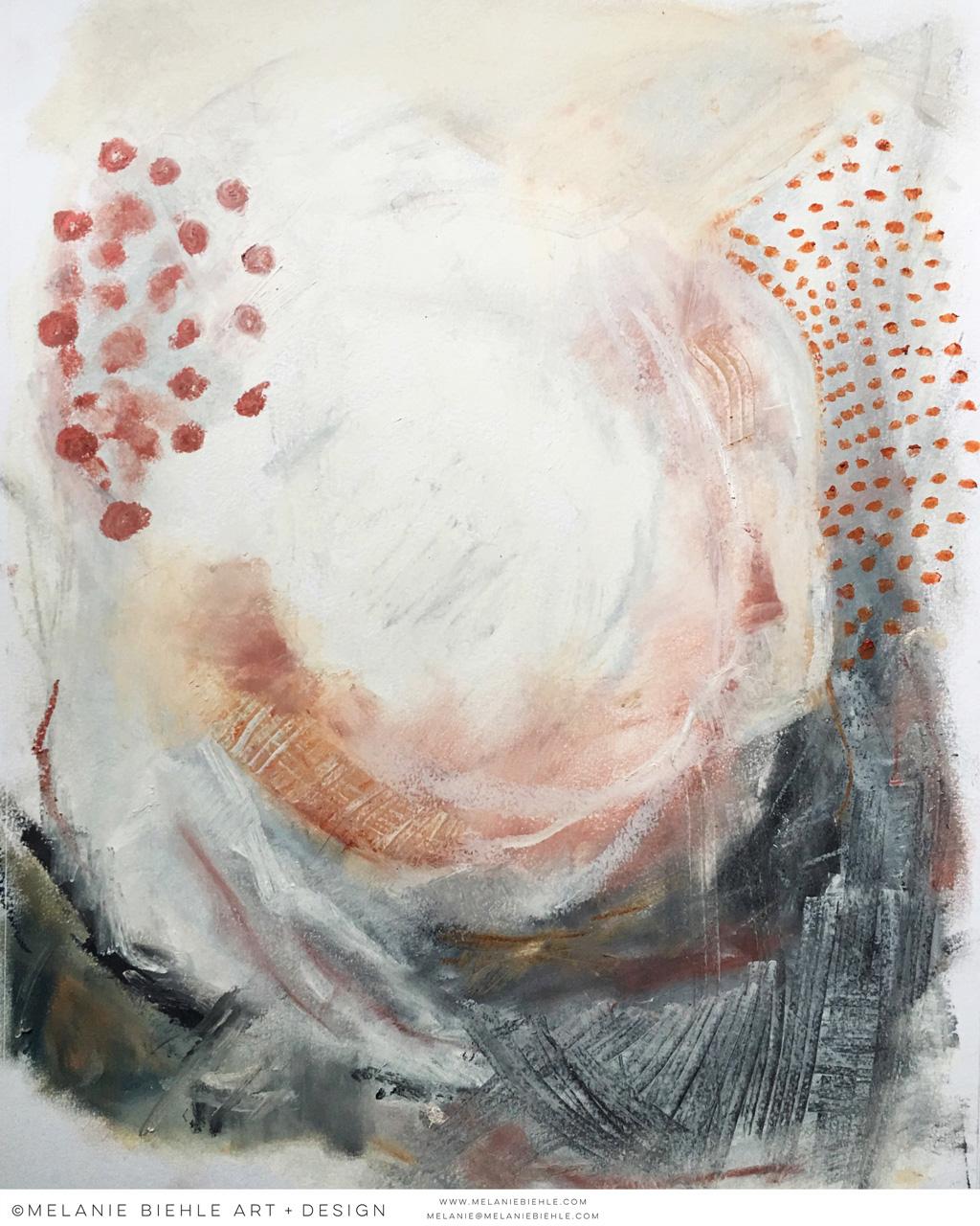 Seattle Artist Melanie Biehle Abstract Paintings