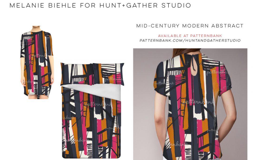 Melanie Biehle for Hunt+Gather Studio at Patternbank
