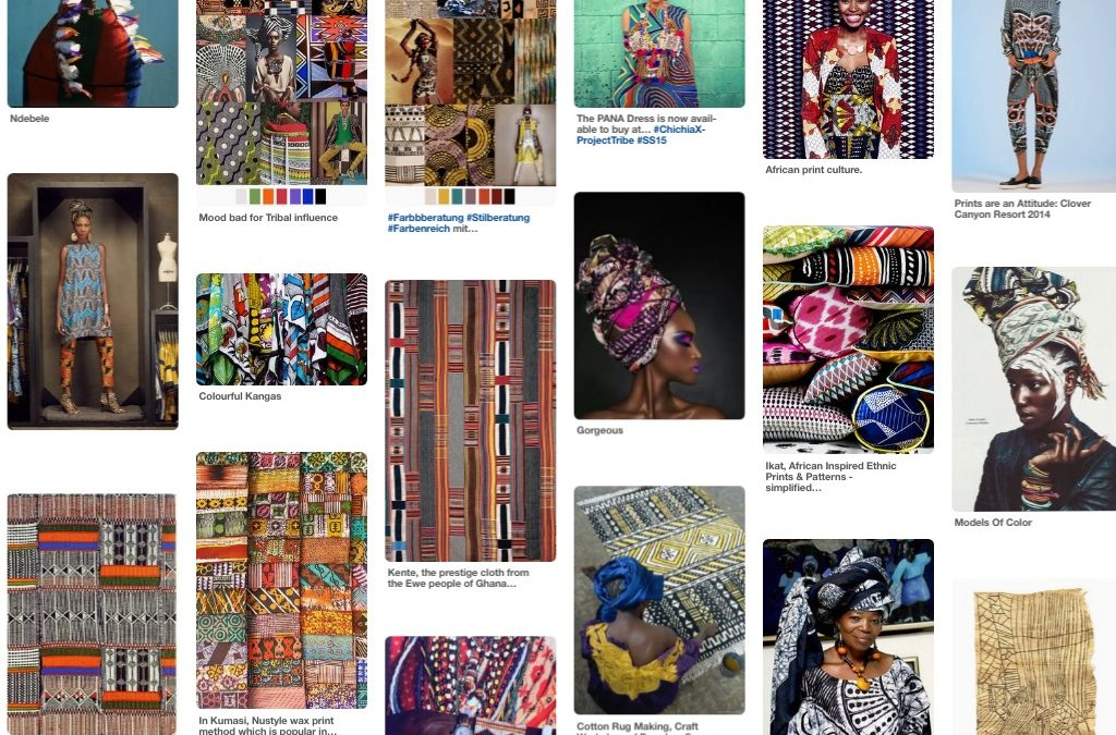 Inspiration: African Textiles and Patterns