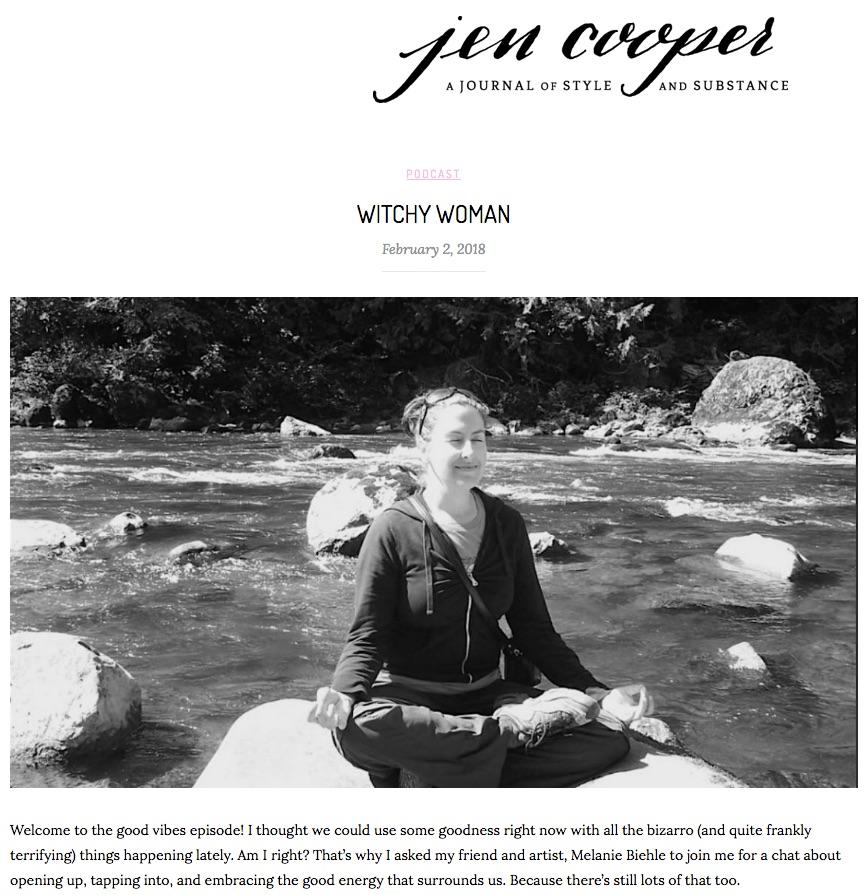 Flow Like An Artist | Creativity Conversation between Jen Cooper and Melanie Biehle